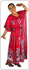Beautifully flattering traditional style kaftan dress